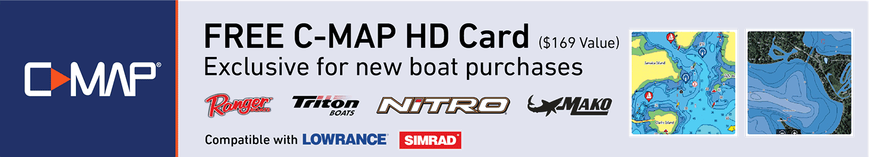 Tracker: Free C-MAP HD Map Card - GoFree