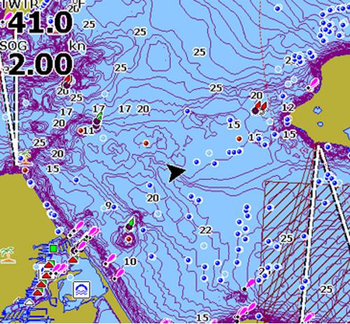 English Tracker Free CMAP HD Map Card GoFree - Usa lake map